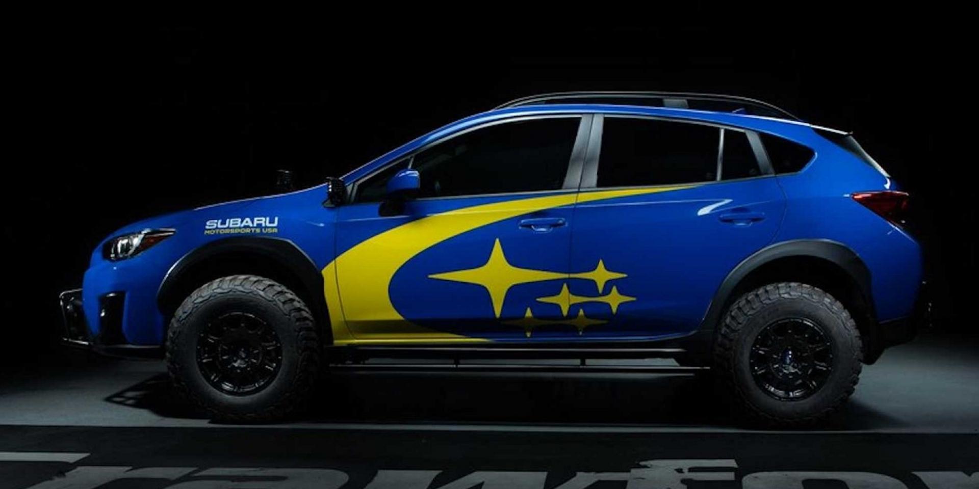 Crawford套件加持,Subaru XV不再簡單