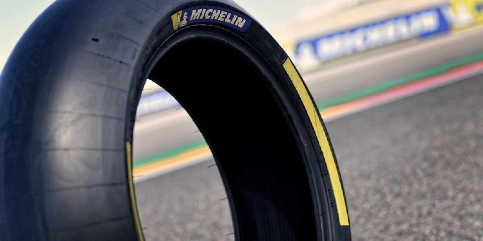 會是驚喜,還是驚嚇?MICHELIN在Misano分站帶來全新不對稱配方前輪。
