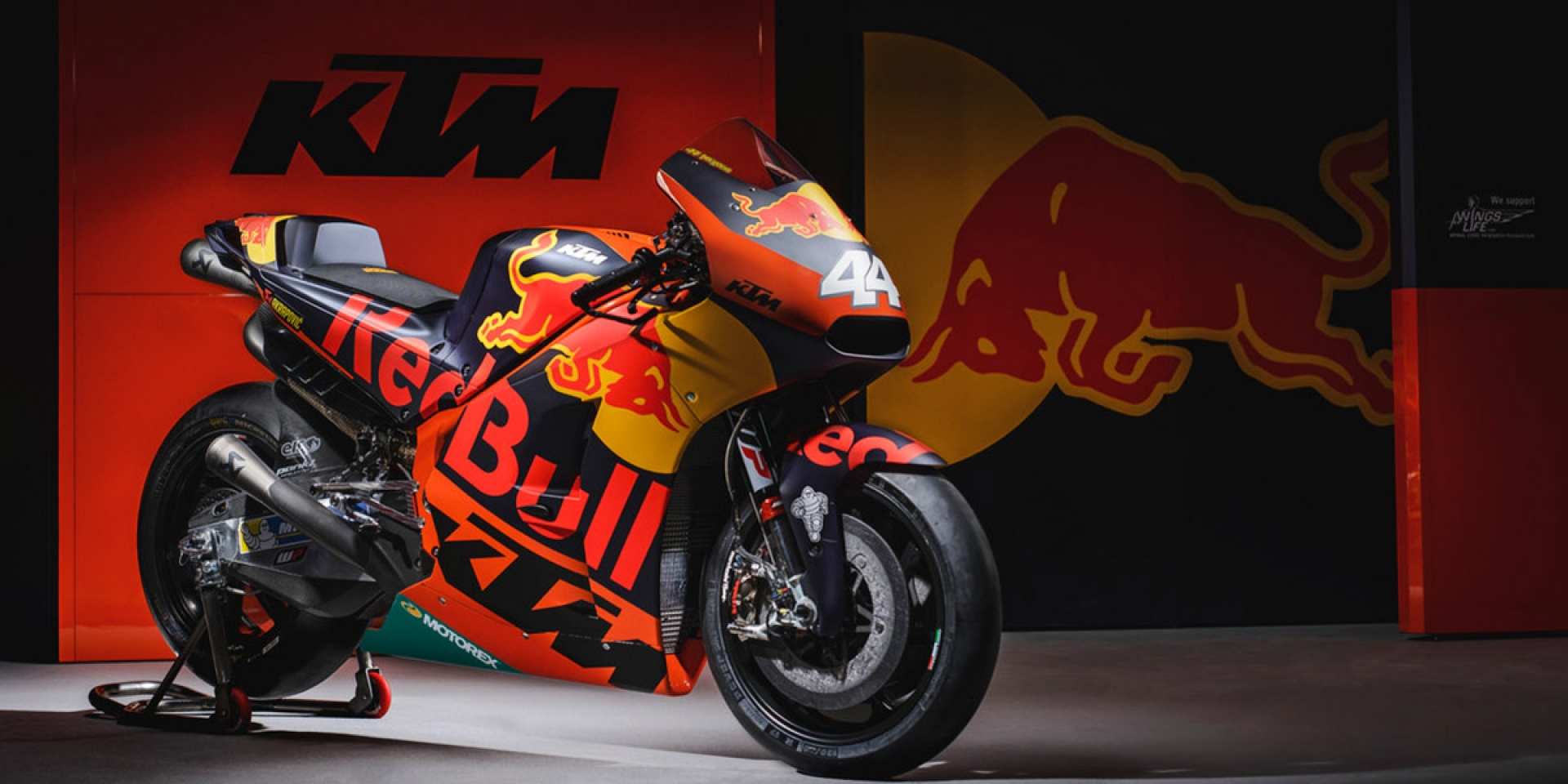 2017 MotoGP KTM Red Bull Racing Team參賽塗裝發表!
