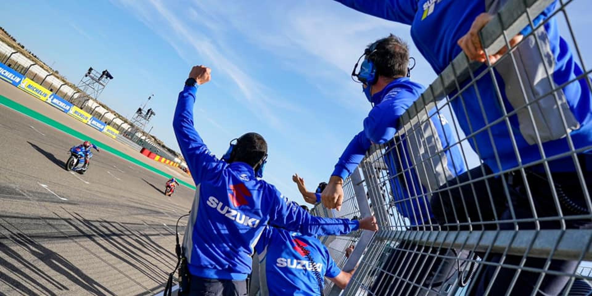 GSX-RR鬼神般的配速!Aragon的藍色新霸主!Alex Rins:我可以清楚看到YAMAHA有多掙扎!