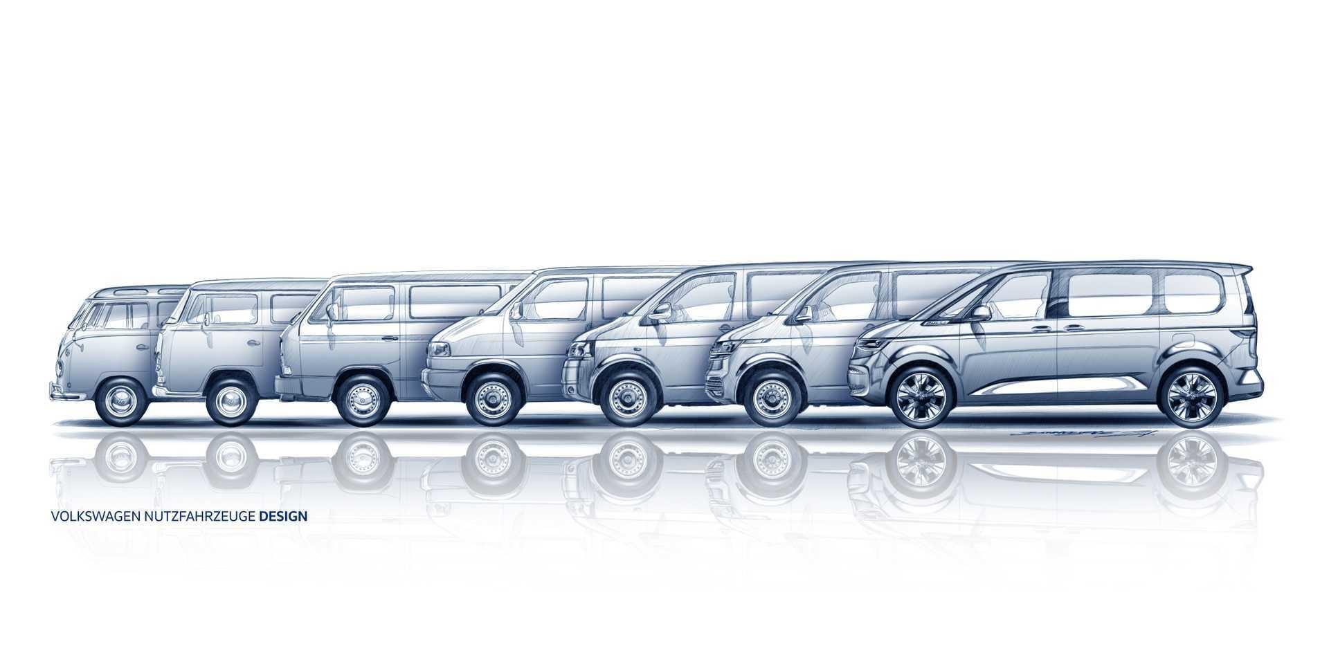 豪華、科技都將更勝以往!Volkswagen大改款Multivan預告六月登場