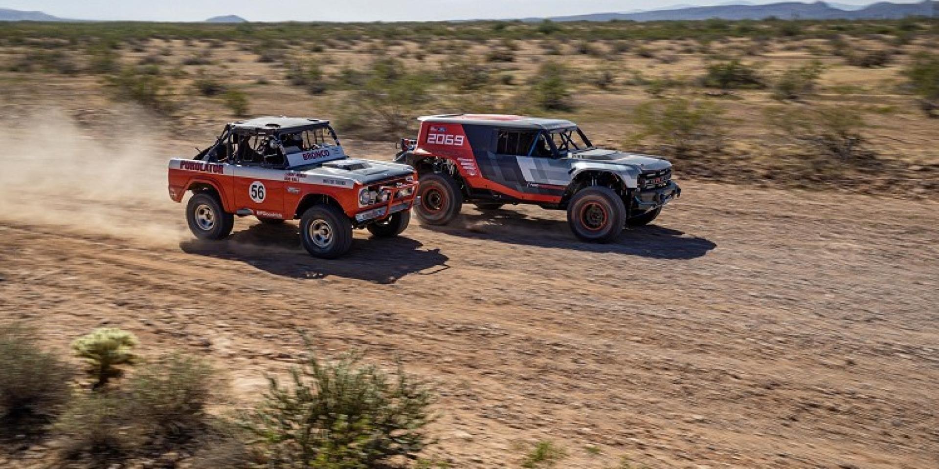 經典越野車重返市場,Ford Bronco R為授受車開先鋒
