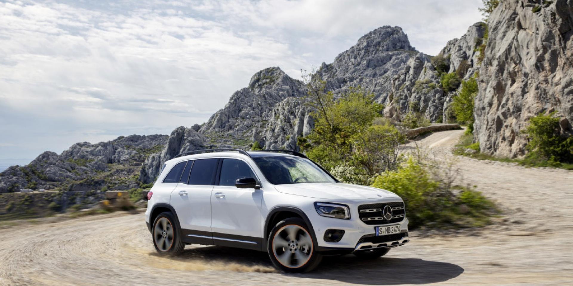 七人SUV新選擇,方正粗獷外形重回市場,Mercedes-Benz GLB發布
