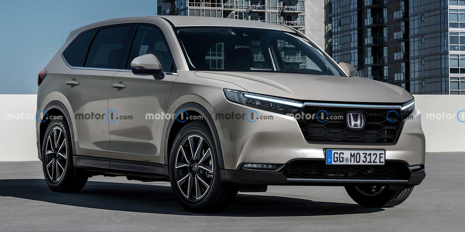 下一代Honda CR-V長這樣?簡潔外觀將提供純電車型!