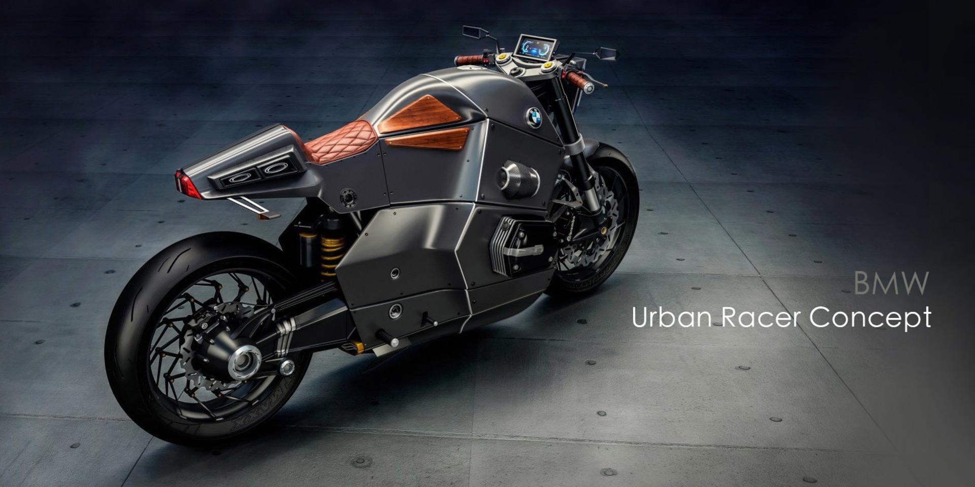 品味X科技 BMW概念摩托車Urban Racer Concept