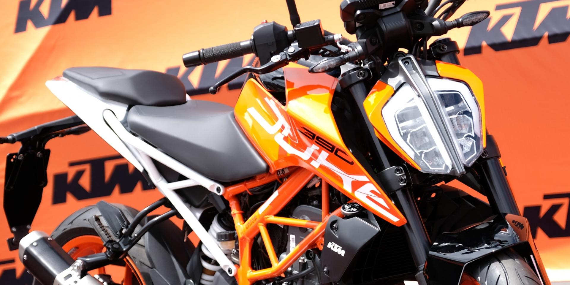 2017年式全新KTM 390DUKE 、RC390強勢登台。首屆KTM DUKEHANA金卡納活動圓滿落幕