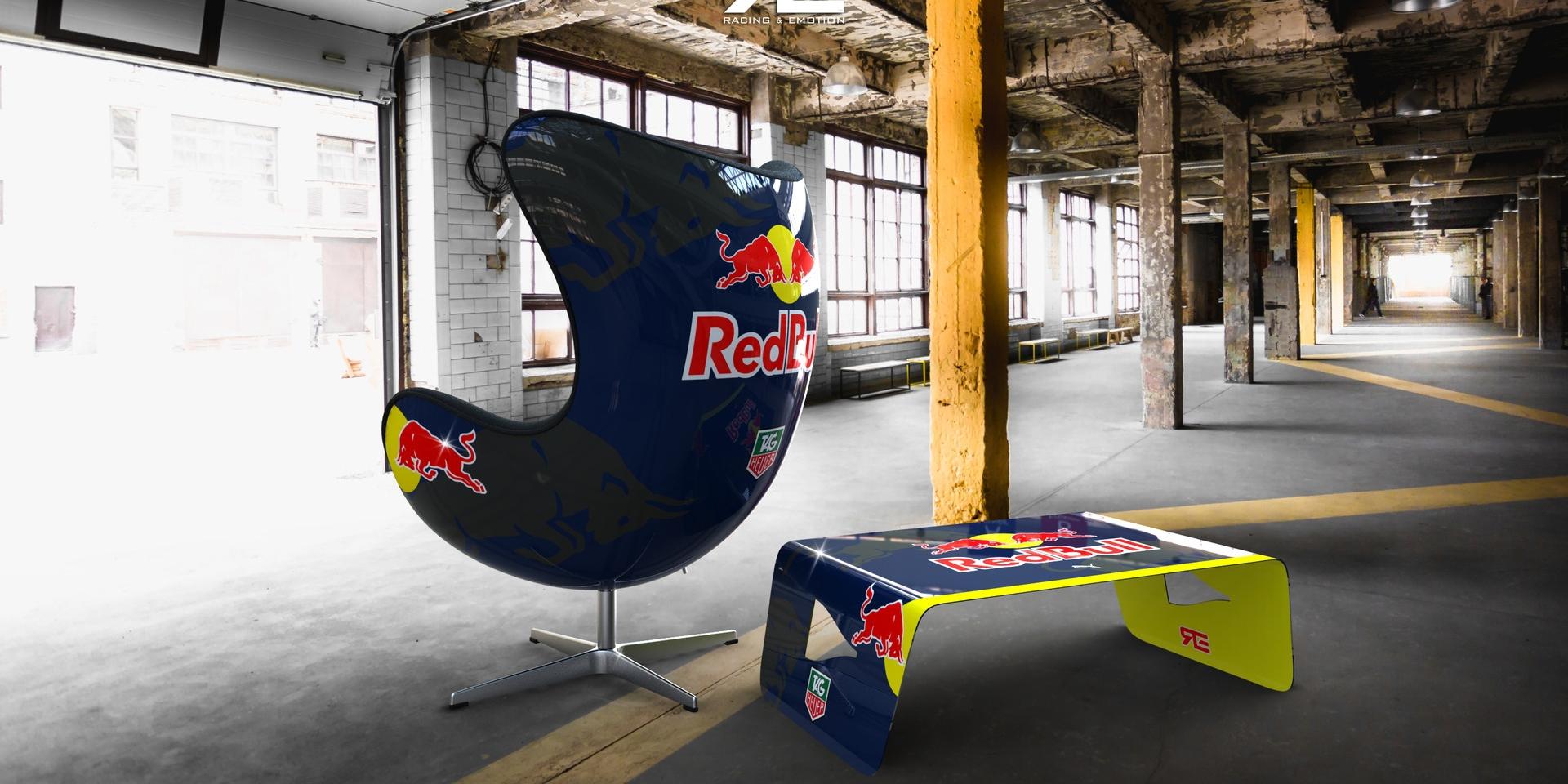 向傳奇賽車致敬。RACING & EMOTION手工星球椅