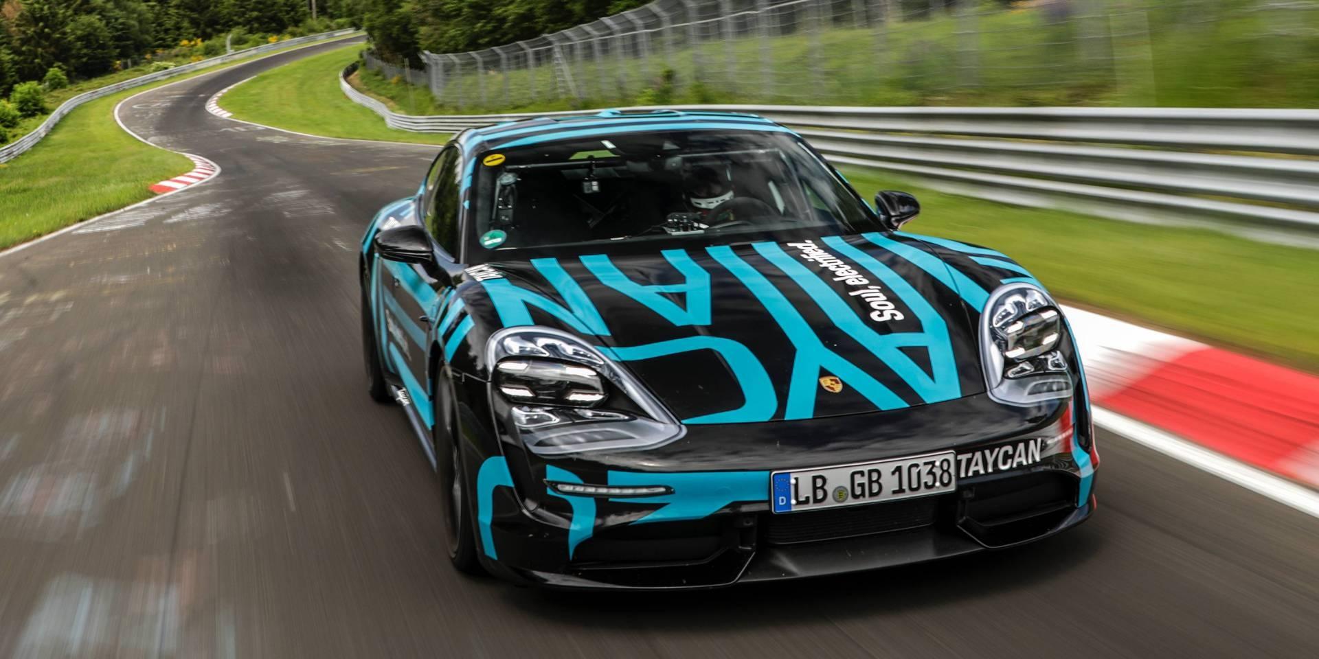 Porsche Taycan好像沒那麼快!紐伯林寫下7:42紀錄