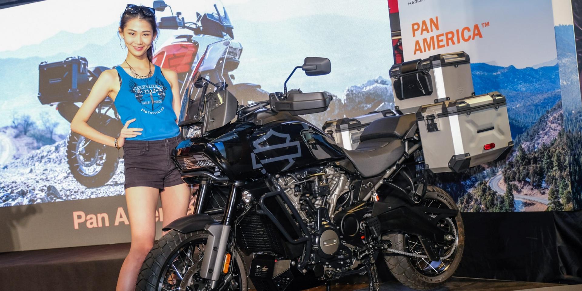美式冒險精神降臨!Harley-Davidson Pan America 1250 108.8萬起台灣發表