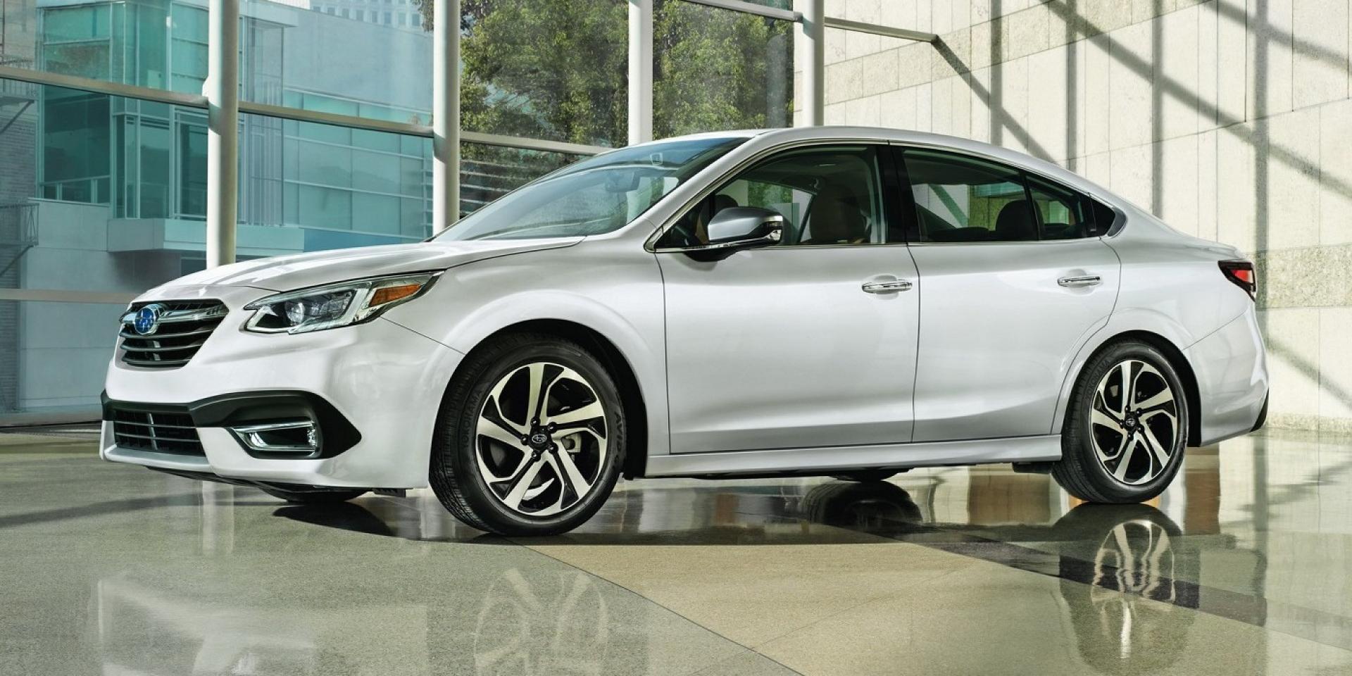 第七代Subaru Legacy芝加哥車展亮相,導入2.4升渦輪增壓引擎