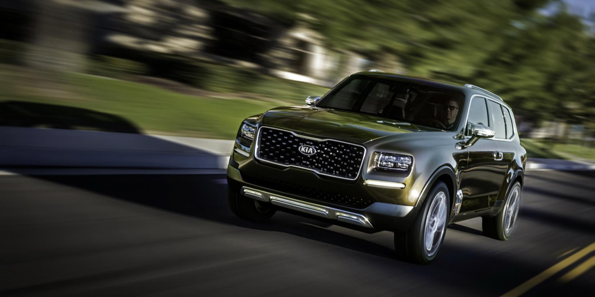 全新頂級旗艦SUV再添猛虎,Kia Telluride概念車進入量產計畫