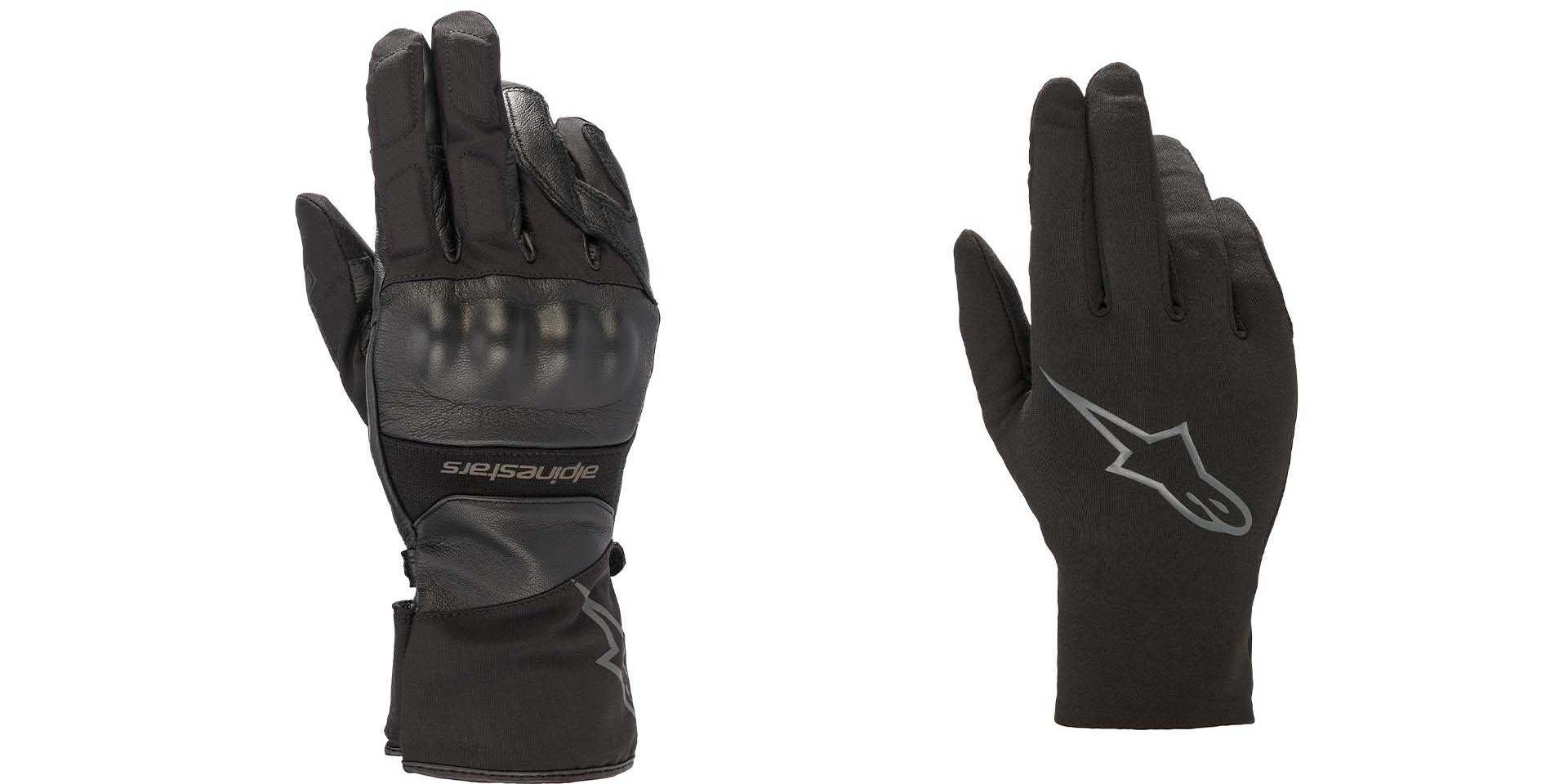 保護與保暖同時兼顧!Alpinestars推出二合一Gore-Tex手套!