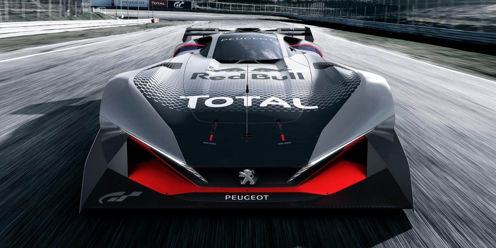 遊戲中的概念車再進化,推出PEUGEOT L750 R HYbrid Vision Gran Turismo