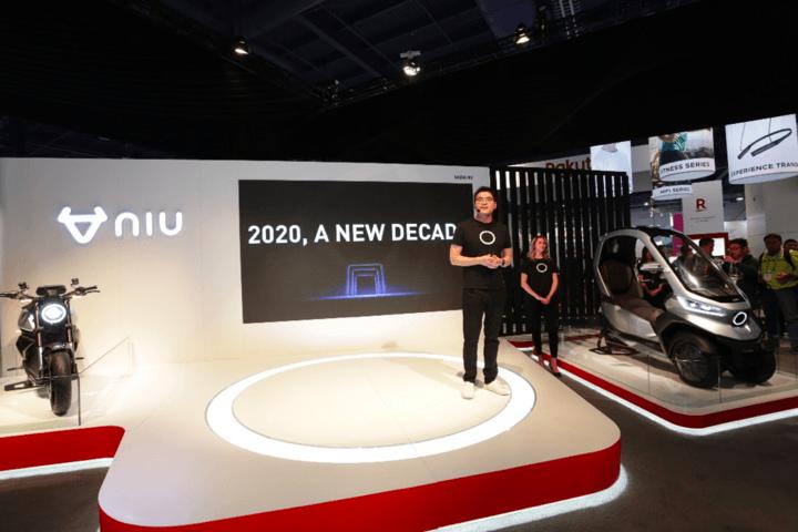 小牛電動車在CES展上發表最新的TQi三輪電動機車