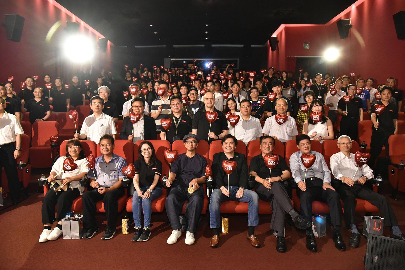 首映會是國內車商少見利用電影院為平台,並透過臉書及YouTube直播大玩廣告首映會的創意行銷手法