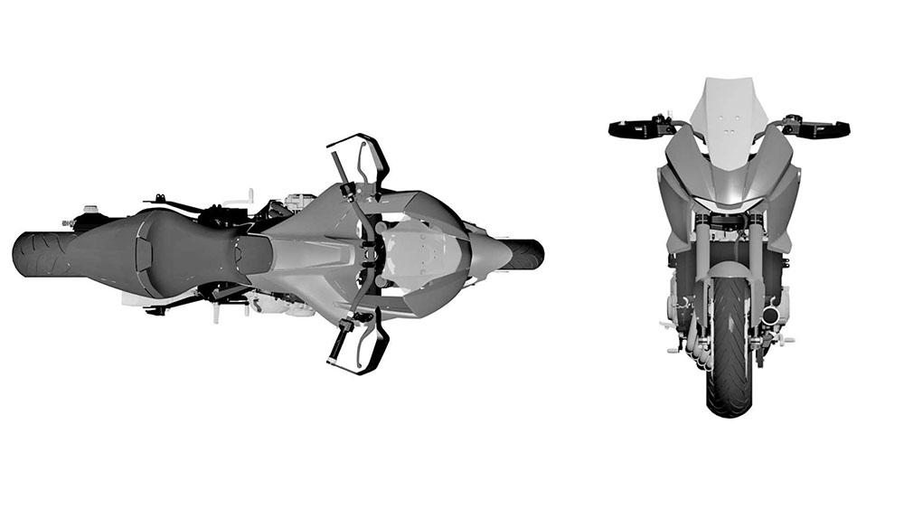 HONDA已經在歐洲註冊CB4 X Concept的專利,未來很有可能會量產上市!