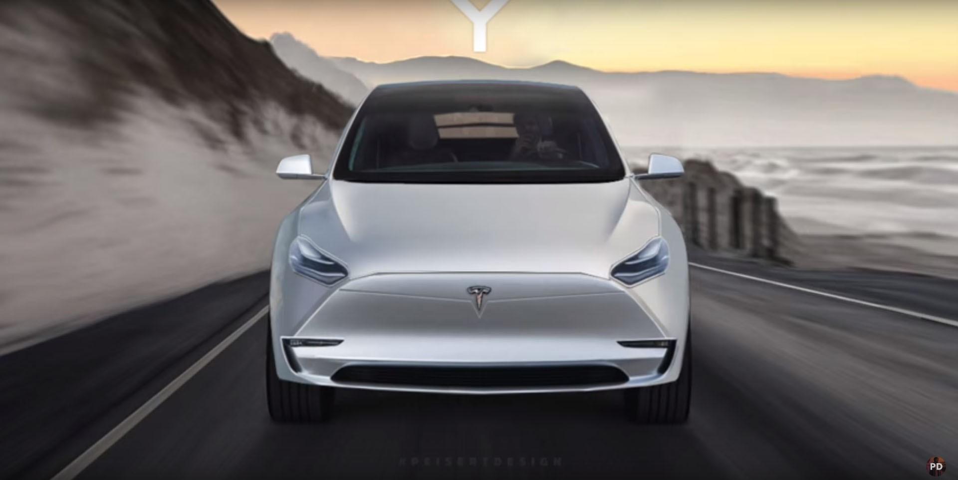 Tesla Model Y Hd: 組成S3XY產品線,Tesla Model Y將在2019問鼎SUV市場