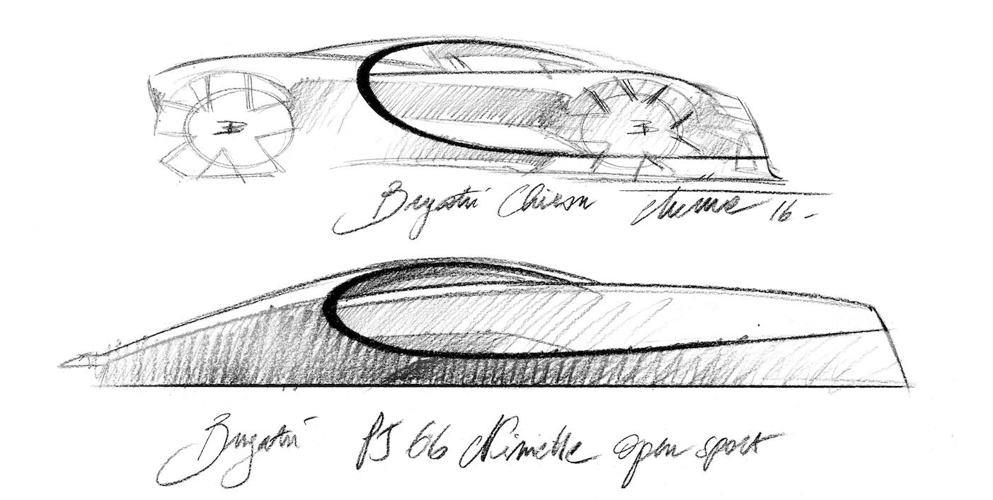 Bugatti Niniette 66外觀設計是參考最新的Bugatti Chiron而來