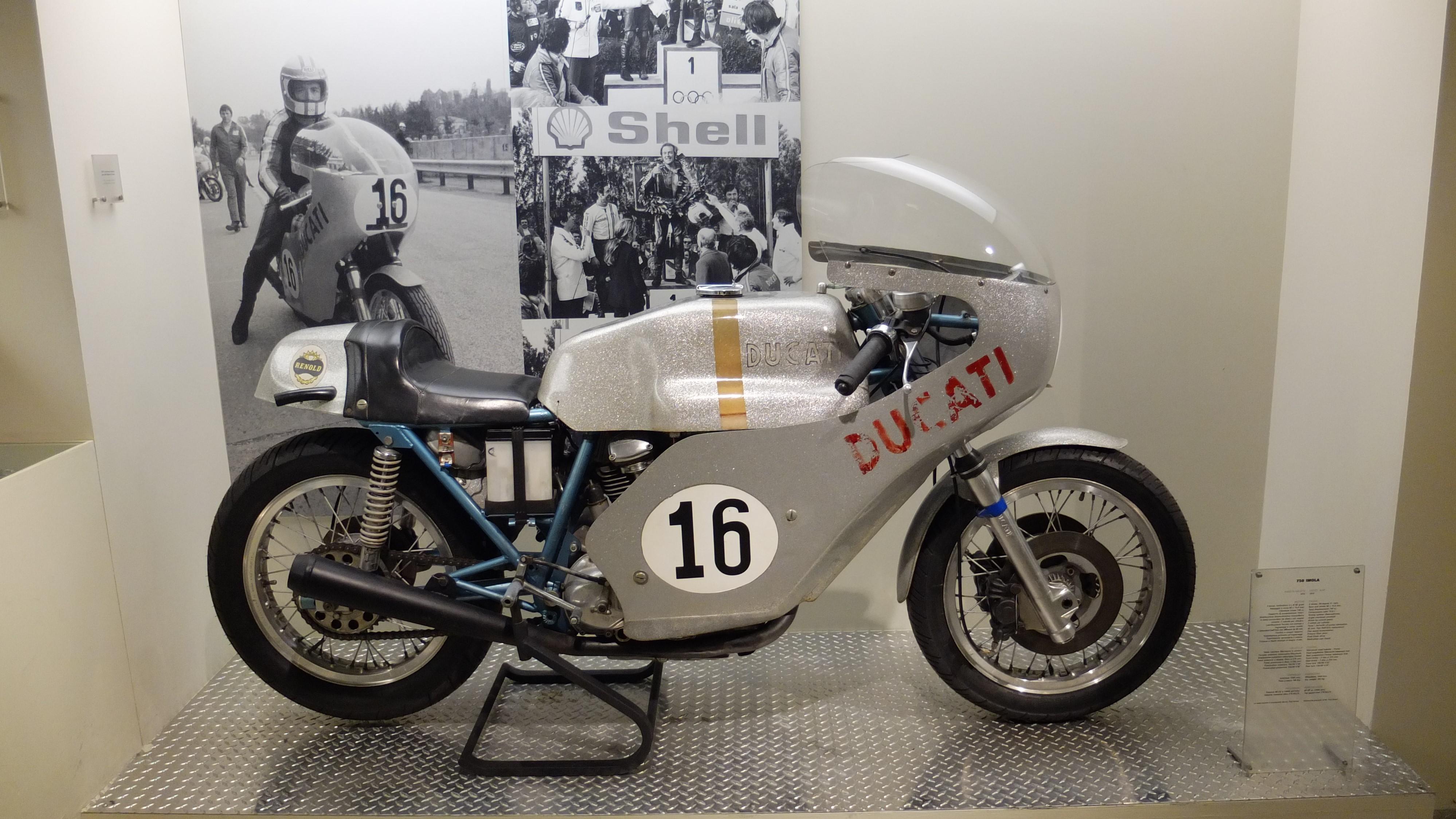 賽後DUCATI 依約定將那台冠軍車送給Smart,後者為表示感謝再將賽車回借給對方,放在官方的博物館裡展示