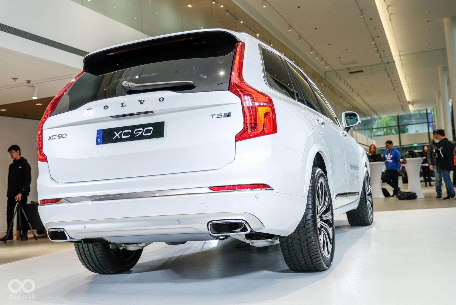 Volvo Xc90小改款提前現身 年底台北車展正式發表 Supermoto8