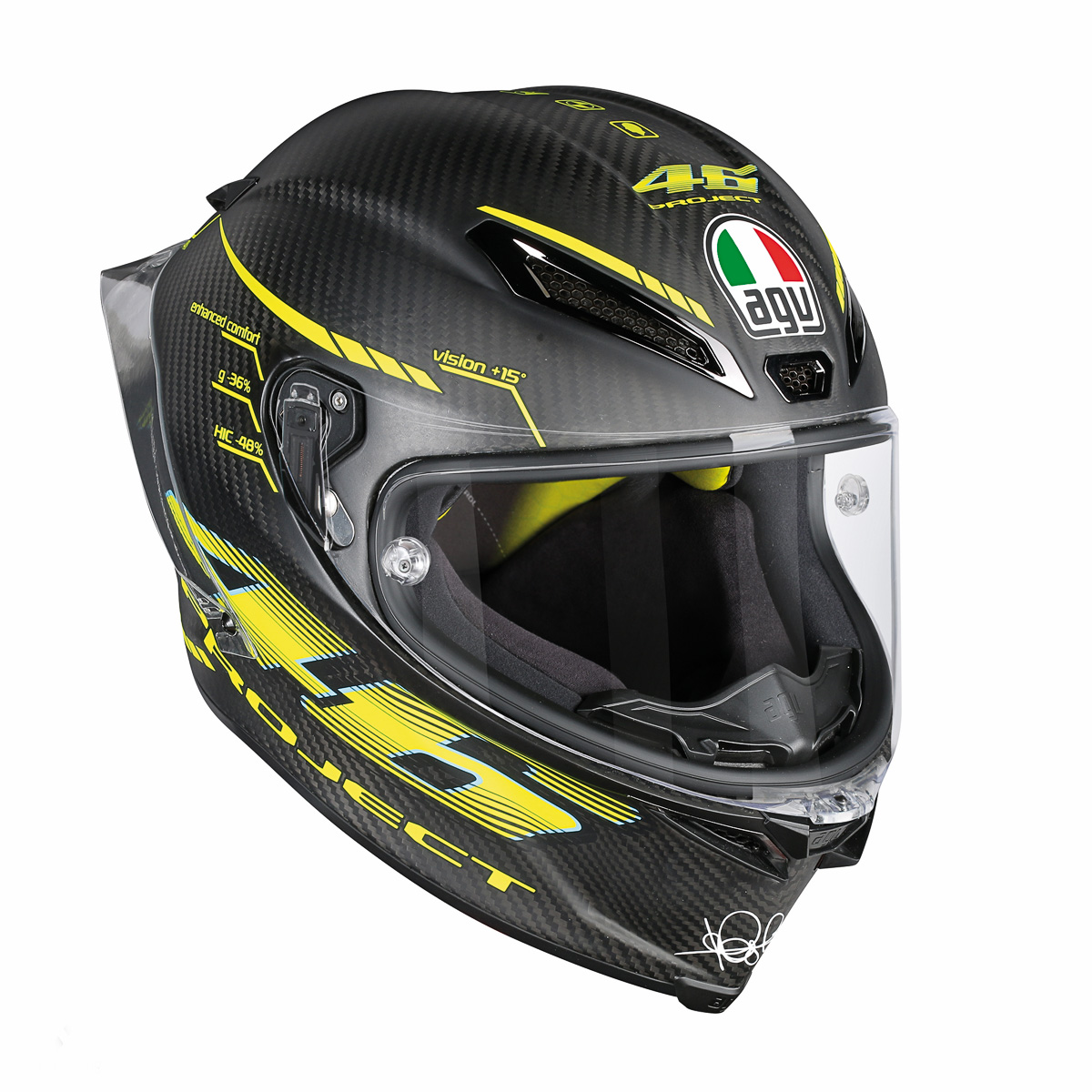 AGV Pista GP R PROJECT 46彩繪