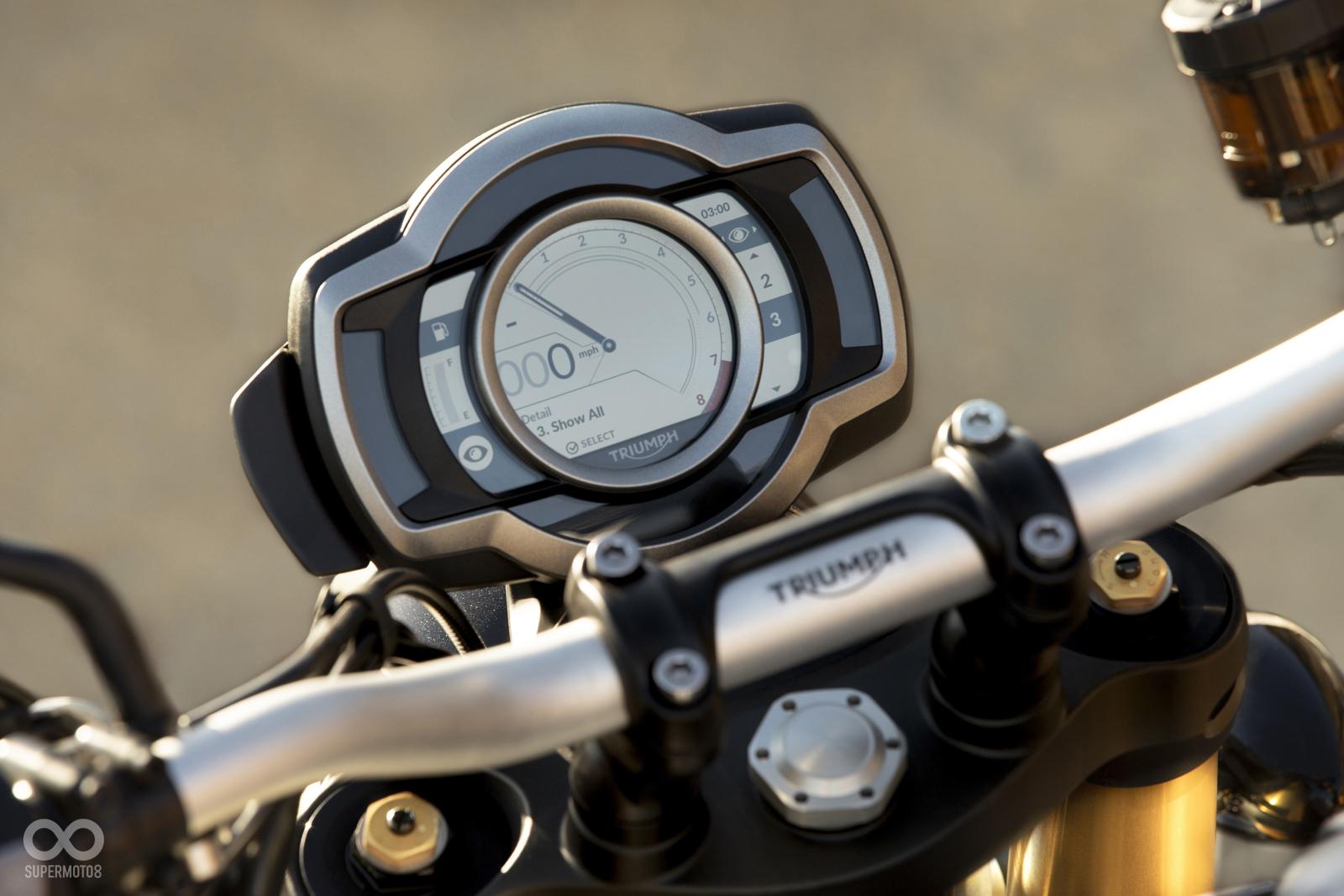 全新設計的全彩衣精儀表,可愛的指針改以數位方式呈現